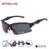 El deporte barato al por mayor gafas de sol Gafas gafas con lentes de color azul