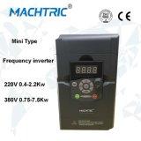 Inversor trifásico VFD de la frecuencia de la venta caliente 380V/220V 0.4-7.5kw