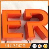 2017 carta de canal de la venta 3D Frontlit/muestra iluminadas LED calientes