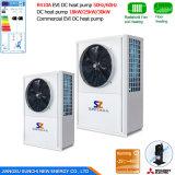 pompa termica di sorgente di aria della presa 60deg c di 12kw 19kw 35kw 70kw