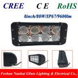 8 '' barra chiara del lavoro del CREE LED per la macchina di agricoltura (GT3302-80W)