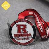 Maratona Medalha de Fita de Metal personalizada