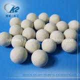 17%Al2O3不活性のアルミナの陶磁器の磁器の球-触媒サポート媒体