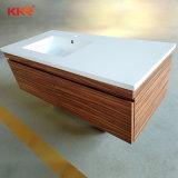 イタリアデザイン石の樹脂の浴室の虚栄心の洗面器