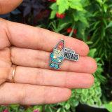Distintivo su ordinazione di Pin del risvolto dello smalto del metallo di alta qualità per le feste