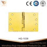 頑丈なヒンジの高品質のヒンジの尖塔の先端の真鍮のヒンジ(Hg1011)