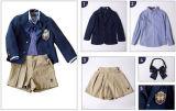 Fardas da escola feitas sob encomenda outono do jardim de infância e jogos do terno três da classe das crianças da roupa do inverno dos estudantes da escola preliminar uniformes