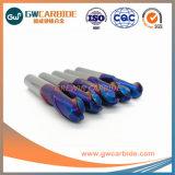 Los molinos de extremo de carburo de tungsteno Herramienta de corte CNC