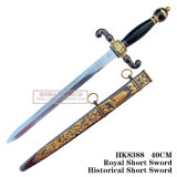 يدويّة تقليد [إيوروبن] فارسة خنجر خنجر [إيوروبن] خنجر تاريخيّ [40كم] [هك8388]