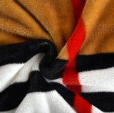 Cobertor 100% macio do velo da flanela de Supe do poliéster da venda por atacado