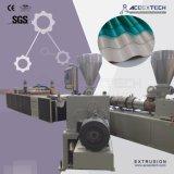 Machine de production de tuile de toiture de trapèze de PVC