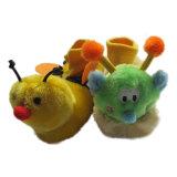 Warme weiche angefüllte Spielzeug-Babyschuhe