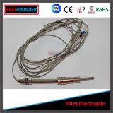 プローブが付いているAmouredの熱電対センサー