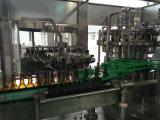 Máquina de rellenar del vino automático lleno de la botella de cristal