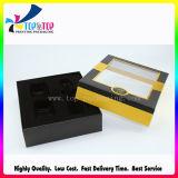 Het Deksel van de luxe en de Kosmetische die Gift van de Basis met het Venster van pvc wordt geplaatst