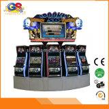 カジノの販売のためのビデオ三重の金5のドラゴンの火かき棒のキーノーのスロットマシン