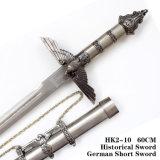 ヨーロッパのワシの短剣の歴史的短剣の指揮剣のホーム装飾60cm
