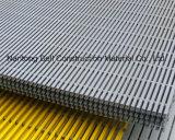 Reja del plástico reforzado fibra de vidrio, reja de FRP/GRP Pultruded, extrusiones por estirado de la fibra de vidrio