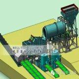 Purificador giratório do equipamento de mineração do ouro do Placer do minério da argila