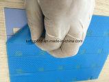 Couvre-tapis ultra mince 3.5W de silicones pour la garniture de courant ascendant de garniture de radiateur d'aperçu gratuit d'usine d'OIN de CERT d'UL de RoHS d'étalage