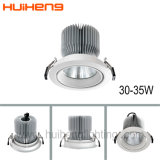 Nouveau design 35W réglable LED COB Downlight encastré