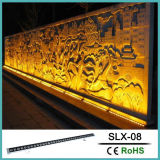 Bañador de pared de barras lineales con accesorio de iluminación LED blanco frío