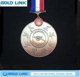 Regalo su ordinazione di promozione del ricordo della medaglia del metallo della medaglia dei giochi di sport