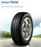 Lieferwagen-Reifen mit weißem Seitenwand-Gummireifen