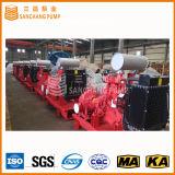 Le jeu diesel de pompe à eau sont conformes à la norme d'UL/Nfpa pour la lutte contre l'incendie (500GPM 60-120m)