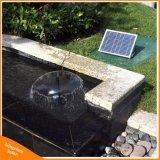 kit alimentato solare della pompa della fontana di acqua di 17V 10W per lo stagno esterno del raggruppamento del giardino decorativo