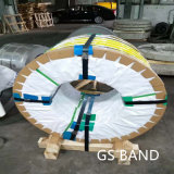 201 304 2b ba de la bobine de bande de précision en acier inoxydable/ Bande de cerclage