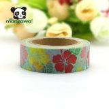 Nastro protettivo colorato documento Washy decorativo fortunato poco costoso di disegno del fiore di prezzi 10m