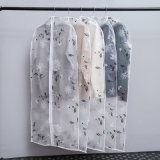 L'impression PEVA transparente robe pull chemise Sac de vêtements adaptés à couvrir