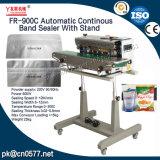 Selladora de banda continua automático con soporte para productos químicos (FR-900C)