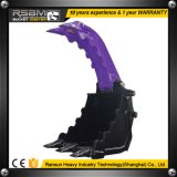 Rsbm 850kg de 400mm de ancho, coge la cuchara para excavadora