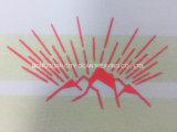 Réflectif plat dégradé de couleur du papier de transfert de chaleur