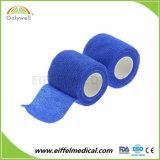 Fasciatura coesiva elastica non tessuta standard del Ce
