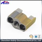 Peças de maquinaria do CNC do sobressalente do alumínio da ferragem da elevada precisão para o espaço aéreo