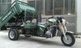 Trike lourd, tricycle de cargaison avec cinq roues et système d'emboutage