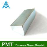N42h de Lange Tegular Magneet van het Neodymium met de Deklaag van het Zink