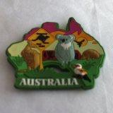 Магниты холодильника сувенира Австралии, нестандартная конструкция радушны