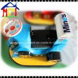 O parque de diversões infantil bateria de viagem de carro de choques para corridas divertido