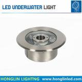 L'illuminazione Intiground IP68 impermeabilizza la lampada subacquea di 6W LED