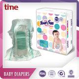 La couche-culotte sèche de bonne qualité et molle respirable de bébé avec l'OIN, la FDA, GV, BV délivrent un certificat