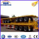 3 Eixo Plataforma/Mesa Recipiente do Utilitário de transporte de contentores semi reboque do veículo