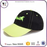 Lime pit Embroidery Knitting machine 6 Panel Custom Cape Baseball
