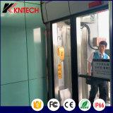 à usage intense Koontech Téléphone Téléphone IP étanche avec porte