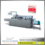 Plastique de savon ou machine à emballer multifonctionnelle automatique de carton de papier