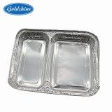 Алюминий материал 3 контейнер из алюминиевой фольги в салоне три зоны