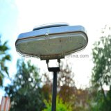 Het zonne Licht van de Tuin met het Zonnepaneel van de Batterij van het Lithium 2000aah